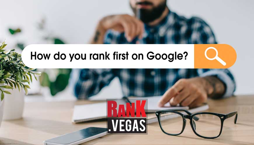 how do you rank first on google